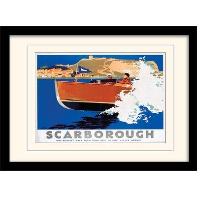 "Art Group Scarborough ""7"" Mounted Framed Vintage Advertisement"