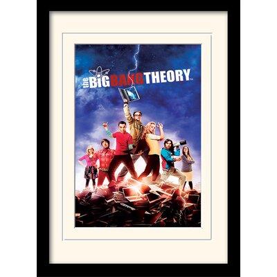 Art Group Season 5 - The Big Bang Theory Framed Vintage Advertisement
