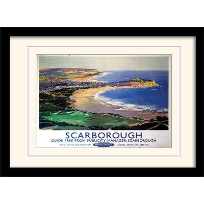 "Art Group Scarborough ""8""Mounted Framed Vintage Advertisement"