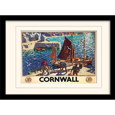 Art Group Cornwall #9 Mounted Framed Graphic Art