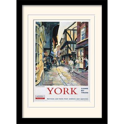 Art Group The Shambles - York Framed Vintage Advertisement