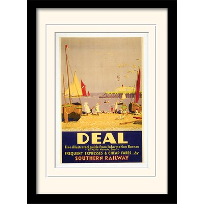 Art Group Deal Framed Vintage Advertisement