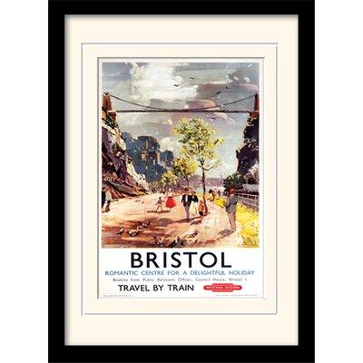 Art Group Bristol Framed Vintage Advertisement