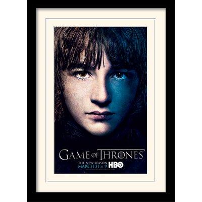 Art Group Game of Thrones Season 3 - Bran Framed Vintage Advertisement