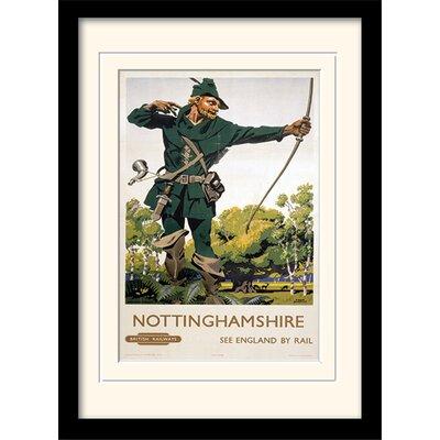 Art Group Nottinghamshire Mounted Framed Vintage Advertisement