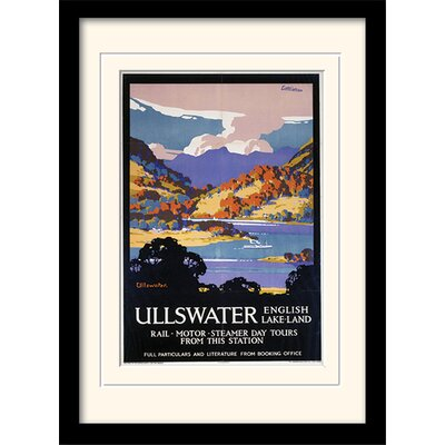 Art Group Ullswater Framed Vintage Advertisement