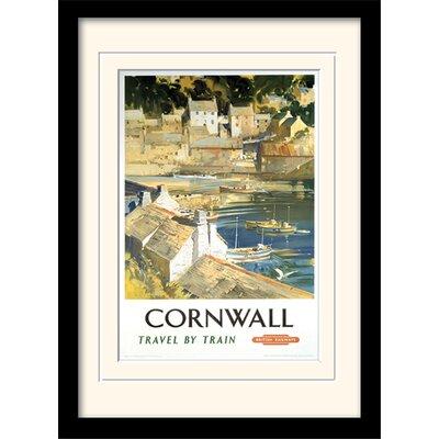 "Art Group Cornwall ""15"" Framed Vintage Advertisement"