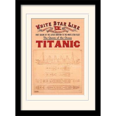 Art Group Titanic Framed Graphic Art
