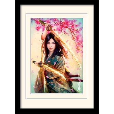 Art Group Mario Wibisono Kei Mounted Framed Graphic Art