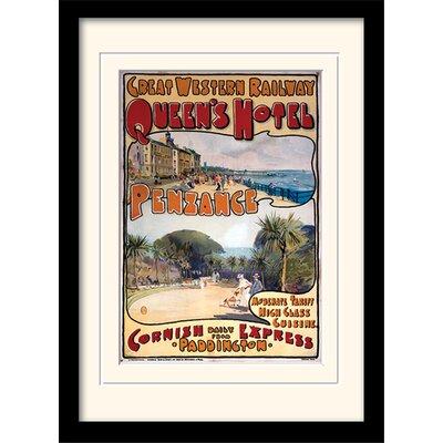 Art Group Cornwall #16 Framed Vintage Advertisement