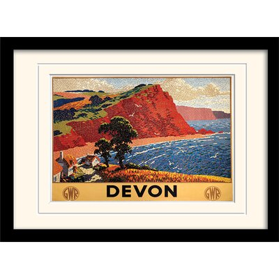 Art Group Devon #1 Framed Graphic Art