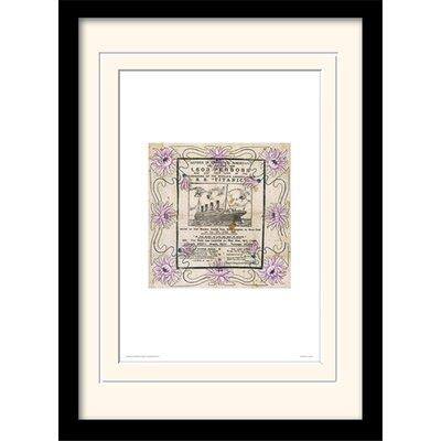 Art Group Souvenir - Titanic Framed Graphic Art