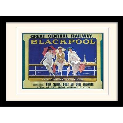 Art Group Blackpool Framed Vintage Advertisement