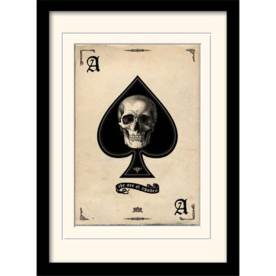 Art Group Ace of Spades Framed Graphic Art