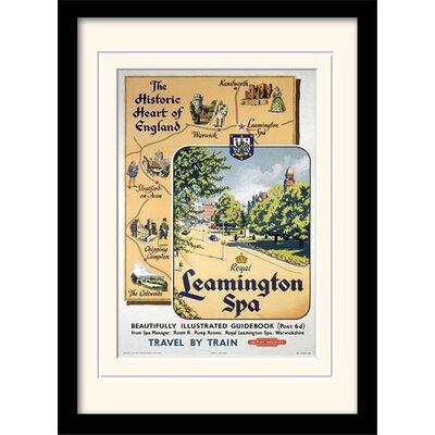 Art Group Leamington Spa Mounted Framed Vintage Advertisement