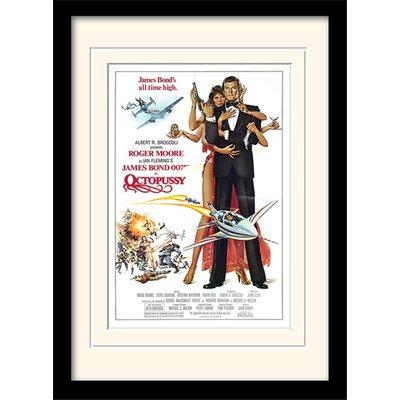 "Art Group James Bond ""Octopussy One-Sheet"" Framed Vintage Advertisement"