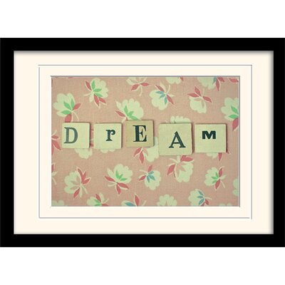 Art Group Dream by Cassia Beck Framed Typography