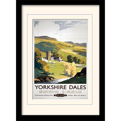Art Group Yorkshire Dales Mounted Framed Vintage Advertisement