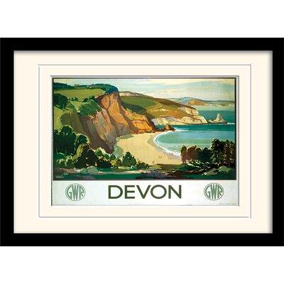 """Art Group Devon """"3"""" Framed Graphic Art"""