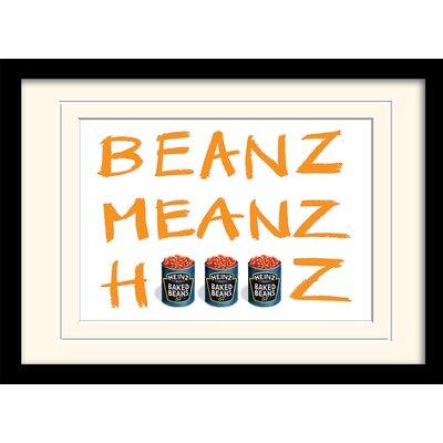 Art Group Heinz - Beanz Meanz Heinz Framed Vintage Advertisement