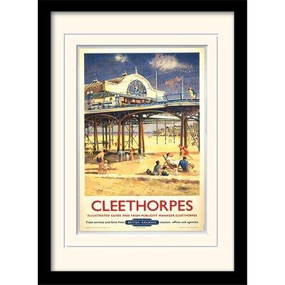 "Art Group Cleethorpes ""1"" Framed Vintage Advertisement"