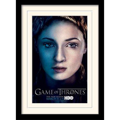 Art Group Game of Thrones  Season 3 - Sansa Framed Vintage Advertisement