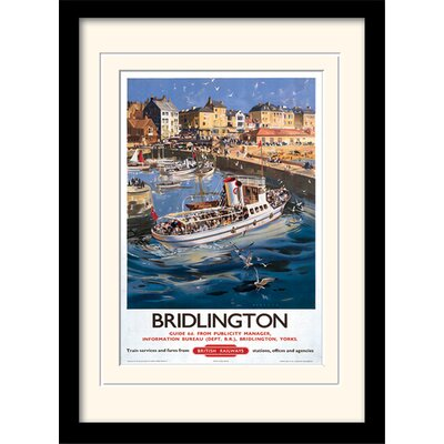 Art Group Bridlington Framed Vintage Advertisement