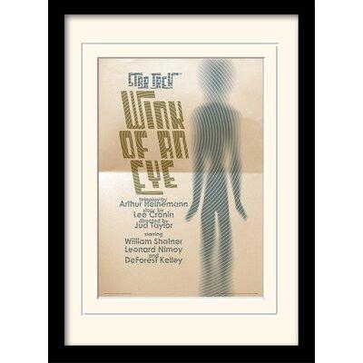 Art Group Wink Of An Eye by Star Trek Mounted Framed Vintage Advertisement