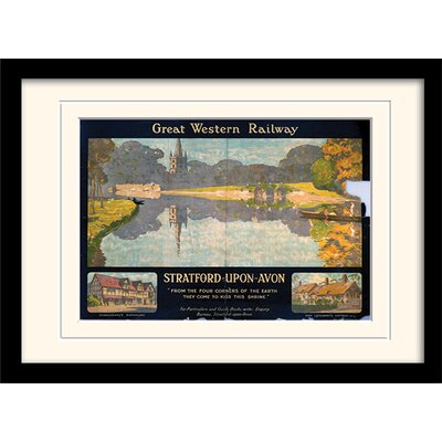 Art Group Stratford on Avon Mounted Framed Vintage Advertisement