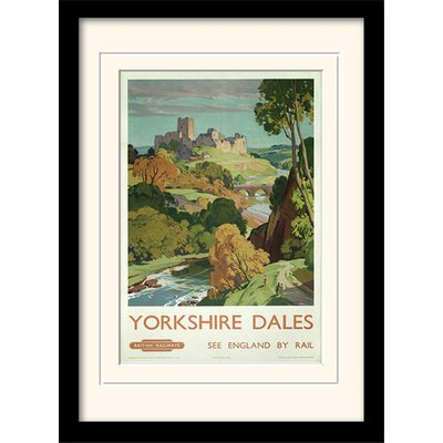 Art Group Yorkshire Dales Framed Vintage Advertisement