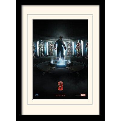 "Art Group Iron Man 3 ""Teaser"" Framed Vintage Advertisement"