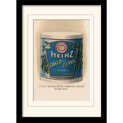 Art Group Heinz Vintage Beans Framed Vintage Advertisement