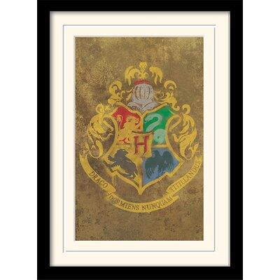 Art Group Harry Potter Hogwarts Crest 1 Framed Graphic Art