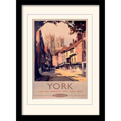 Art Group York Framed Vintage Advertisement