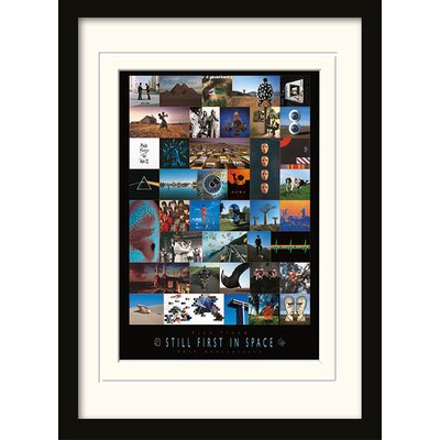 Art Group Pink Floyd 40th Anniversary Mounted Framed Vintage Advertisement