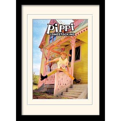 Art Group Pippi Longstocking Jumping Framed Vintage Advertisement