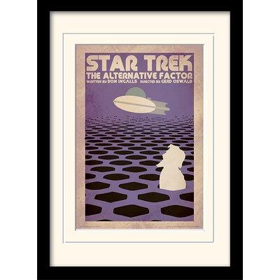 Art Group The Alternative Factor by Star Trek Mounted Framed Vintage Advertisement