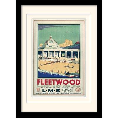 Art Group Fleetwood Framed Vintage Advertisement