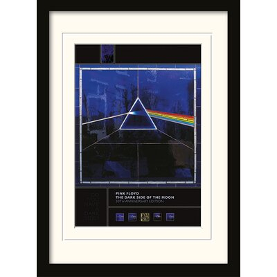 Art Group Pink Floyd Dark Side of the Moon- 30th Anniversary Framed Graphic Art