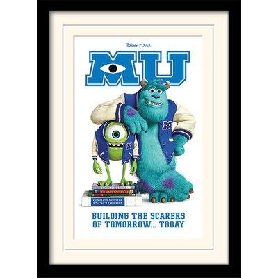 Art Group Monsters University Scarers of Tomorrow Framed Vintage Advertisement