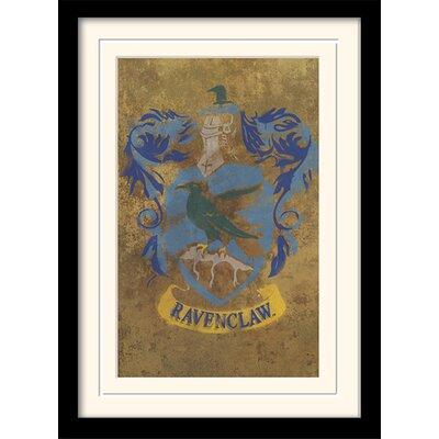 Art Group Harry Potter Ravenclaw Crest Framed Graphic Art
