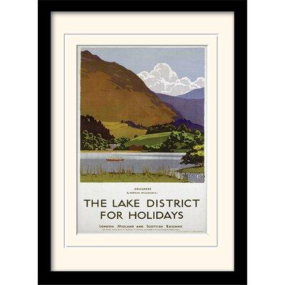 Art Group The Lake District Framed Vintage Advertisement