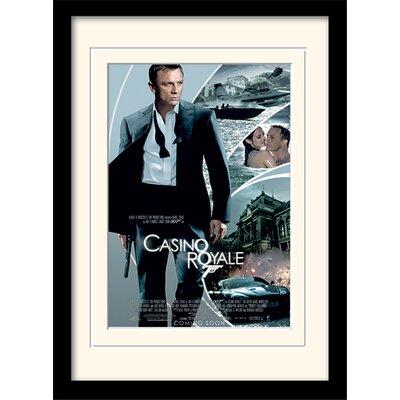 "Art Group James Bond ""Casino Royale One-Sheet"" Framed Vintage Advertisement"