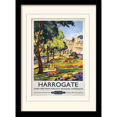 "Art Group Harrogate ""1"" Framed Vintage Advertisement"