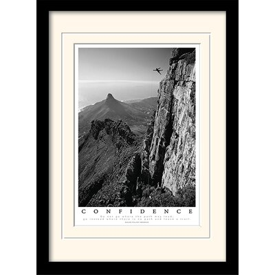 Art Group Confidence Framed Photographic Print