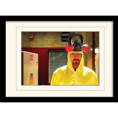 Art Group Hazmat Suit Breaking Bad Framed Photographic Print