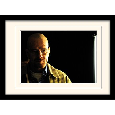Art Group Walter Shadowy Breaking Bad Framed Photographic Print