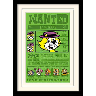 Art Group Wanted - Top Cat Framed Vintage Advertisement