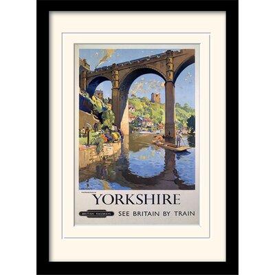Art Group Yorkshire Knaresborough Framed Vintage Advertisement