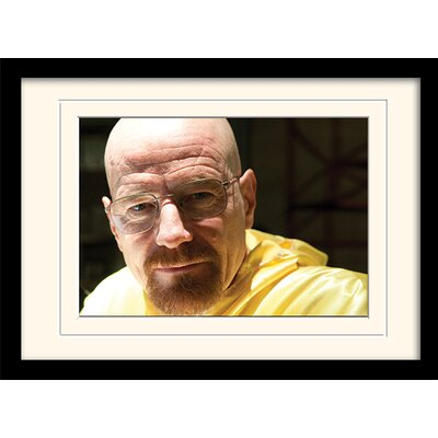 Art Group Walter Closeup Breaking Bad Framed Photographic Print